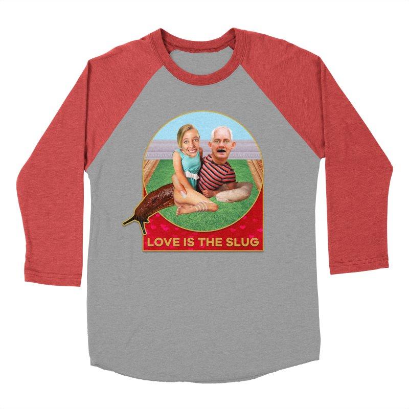 Love Is the Slug Men's Baseball Triblend Longsleeve T-Shirt by The Rake & Herald Online Clag Emporium