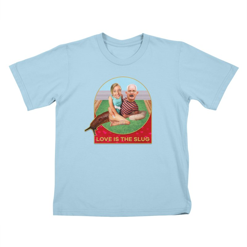 Love Is the Slug Kids T-Shirt by The Rake & Herald Online Clag Emporium