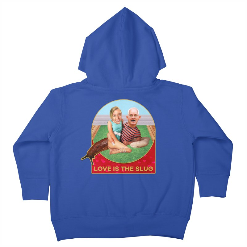 Love Is the Slug Kids Toddler Zip-Up Hoody by The Rake & Herald Online Clag Emporium