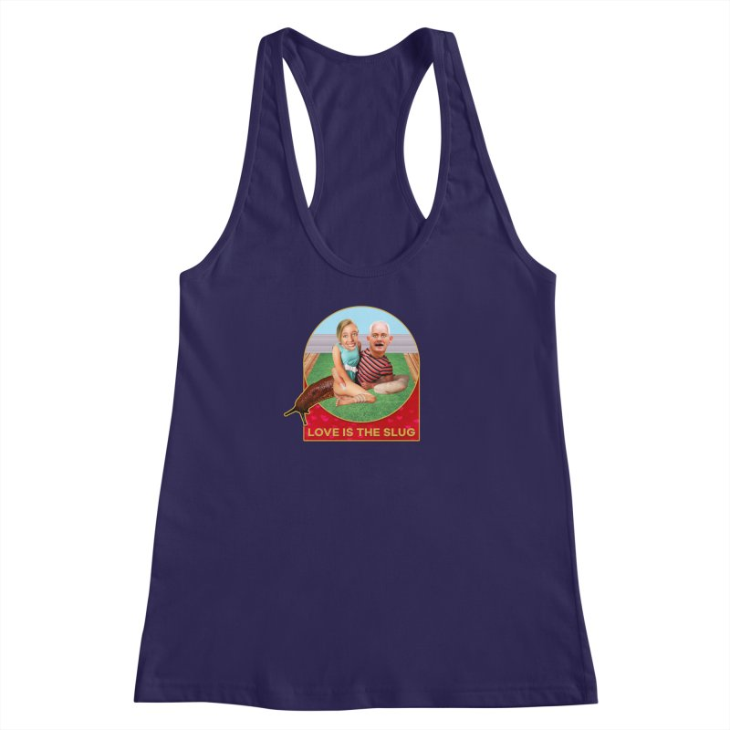 Love Is the Slug Women's Racerback Tank by The Rake & Herald Online Clag Emporium