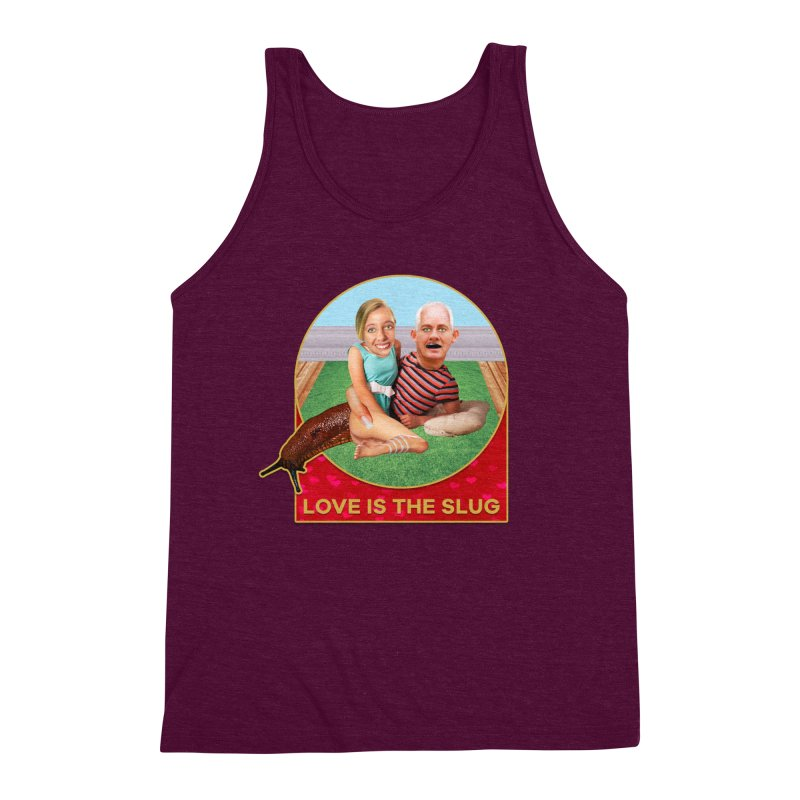 Love Is the Slug Men's Triblend Tank by The Rake & Herald Online Clag Emporium