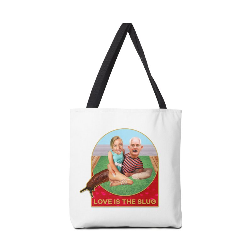 Love Is the Slug Accessories Tote Bag Bag by The Rake & Herald Online Clag Emporium