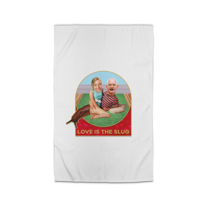 Love Is the Slug Home Rug by The Rake & Herald Online Clag Emporium