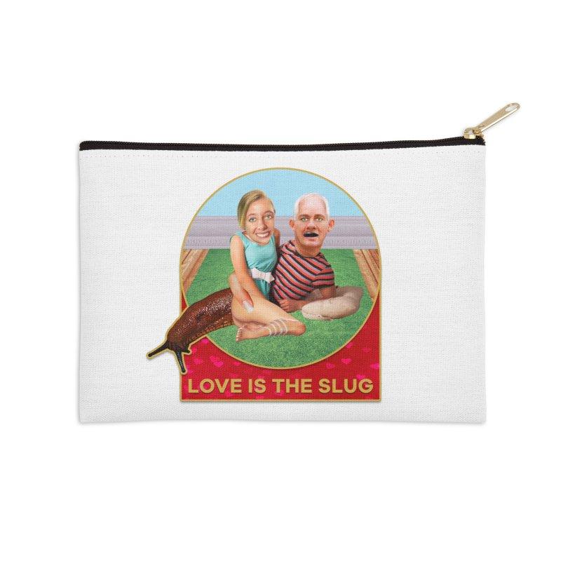 Love Is the Slug Accessories Zip Pouch by The Rake & Herald Online Clag Emporium