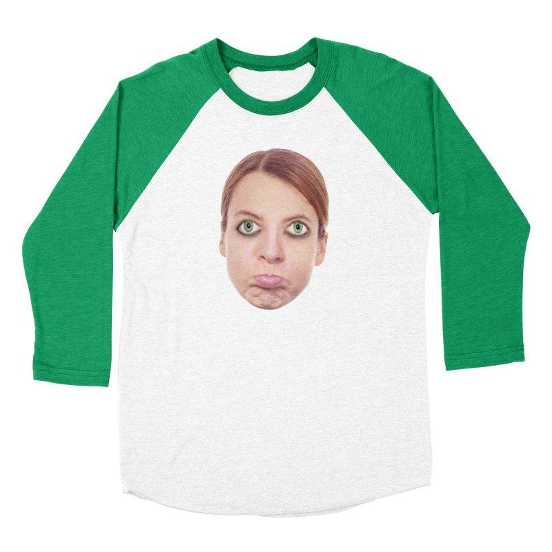 Kate Middlefinger Women's Baseball Triblend T-Shirt by The Rake & Herald Online Clag Emporium