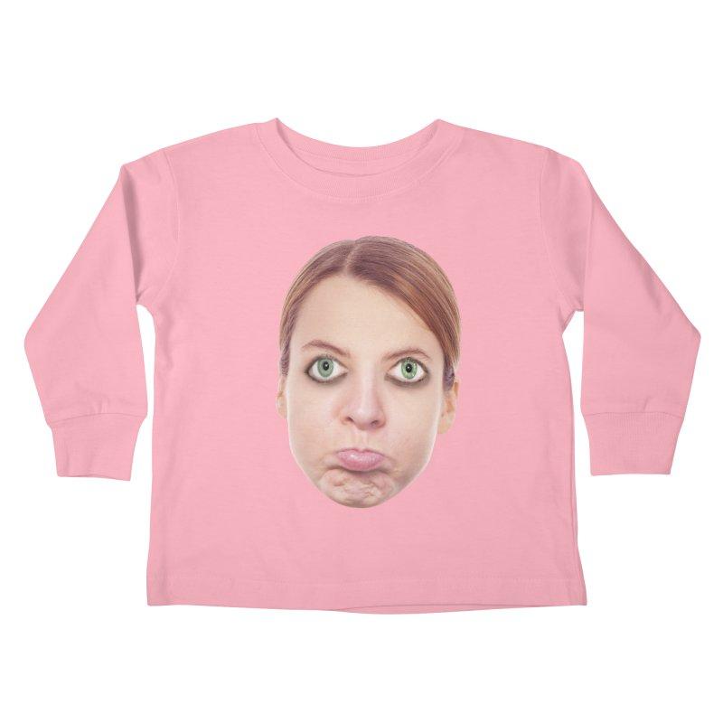 Kate Middlefinger Kids Toddler Longsleeve T-Shirt by The Rake & Herald Online Clag Emporium
