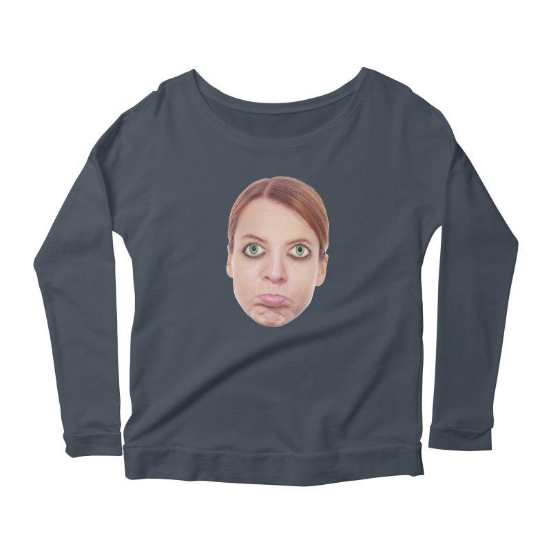 Kate Middlefinger Women's Scoop Neck Longsleeve T-Shirt by The Rake & Herald Online Clag Emporium