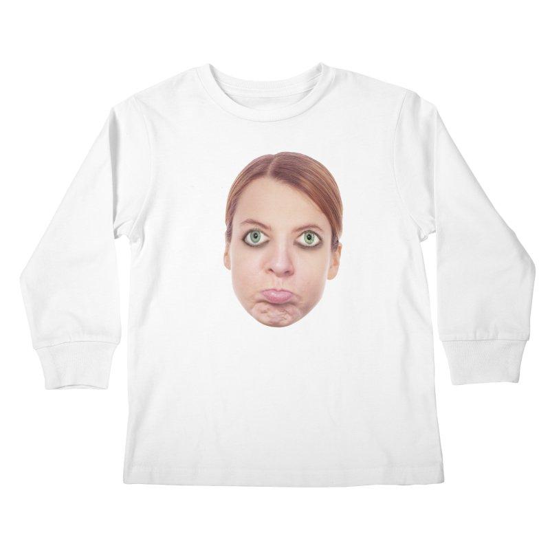 Kate Middlefinger Kids Longsleeve T-Shirt by The Rake & Herald Online Clag Emporium