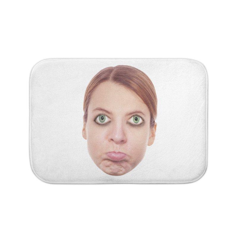 Kate Middlefinger Home Bath Mat by The Rake & Herald Online Clag Emporium