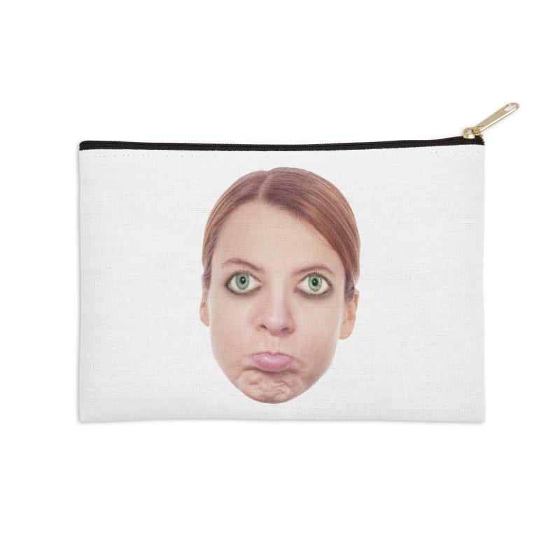 Kate Middlefinger Accessories Zip Pouch by The Rake & Herald Online Clag Emporium