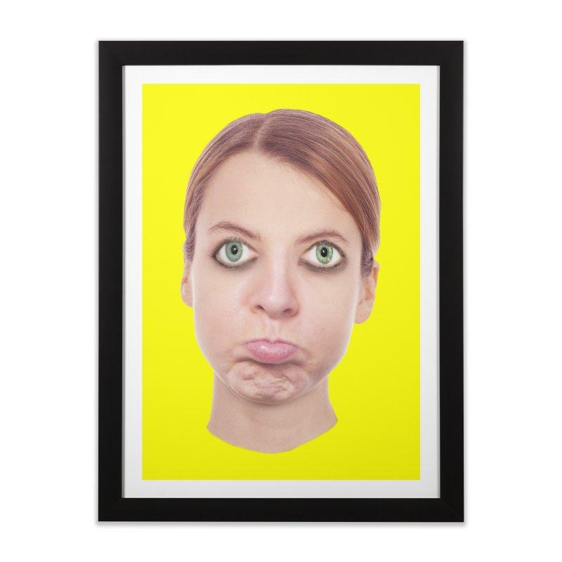 Kate Middlefinger Home Framed Fine Art Print by The Rake & Herald Online Clag Emporium