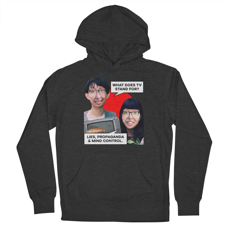 What Does TV Stand For? Women's Pullover Hoody by The Rake & Herald Online Clag Emporium