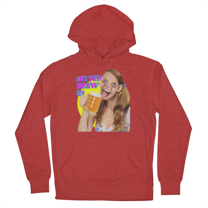 Get Yer Brew On Women's French Terry Pullover Hoody by The Rake & Herald Online Clag Emporium