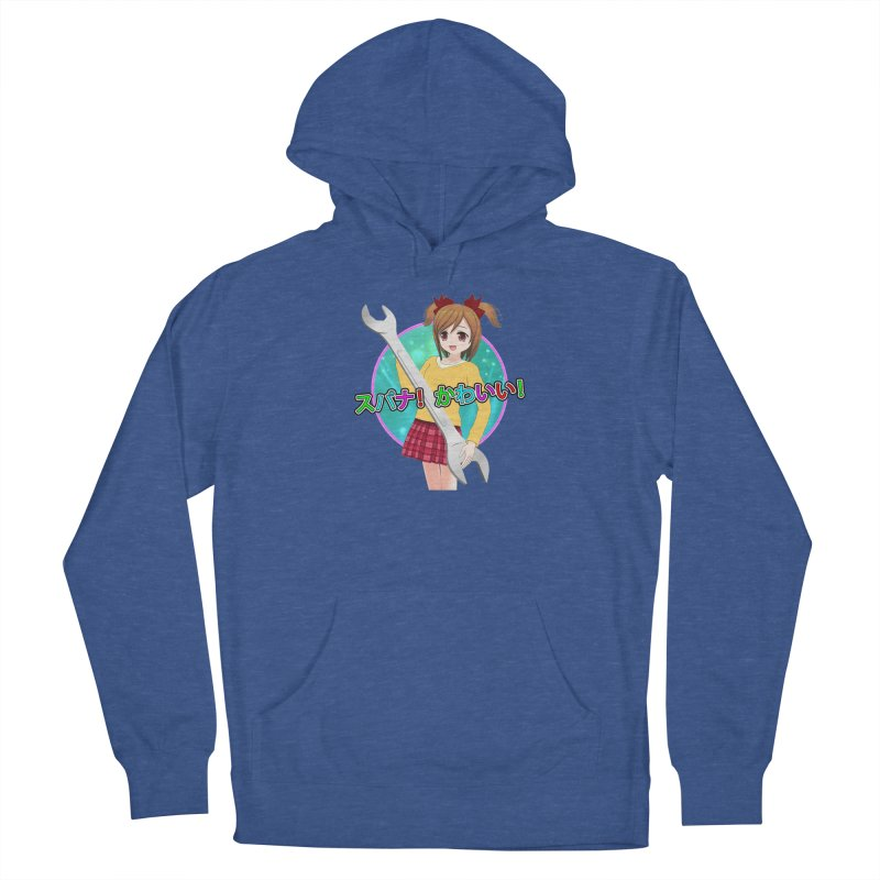 Spanner! Kawaii! Men's French Terry Pullover Hoody by The Rake & Herald Online Clag Emporium