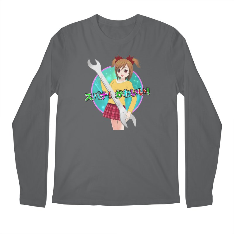 Spanner! Kawaii! Men's Longsleeve T-Shirt by The Rake & Herald Online Clag Emporium