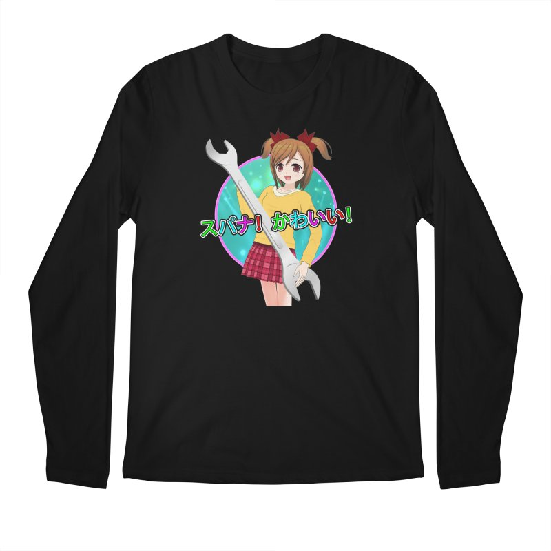 Spanner! Kawaii! Men's Regular Longsleeve T-Shirt by The Rake & Herald Online Clag Emporium