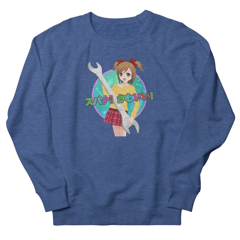 Spanner! Kawaii! Women's French Terry Sweatshirt by The Rake & Herald Online Clag Emporium