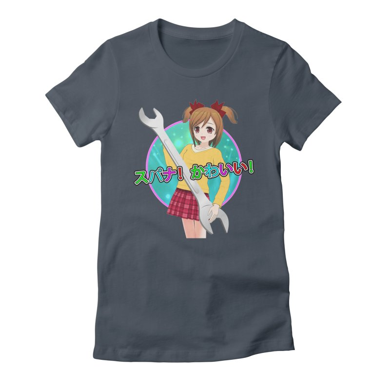 Spanner! Kawaii! Women's T-Shirt by The Rake & Herald Online Clag Emporium