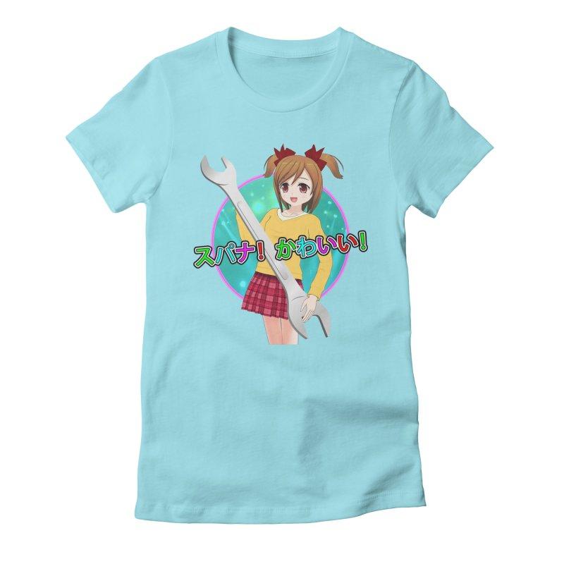 Spanner! Kawaii! Women's T-Shirt by The Rake & Herald Online Clag Emporium