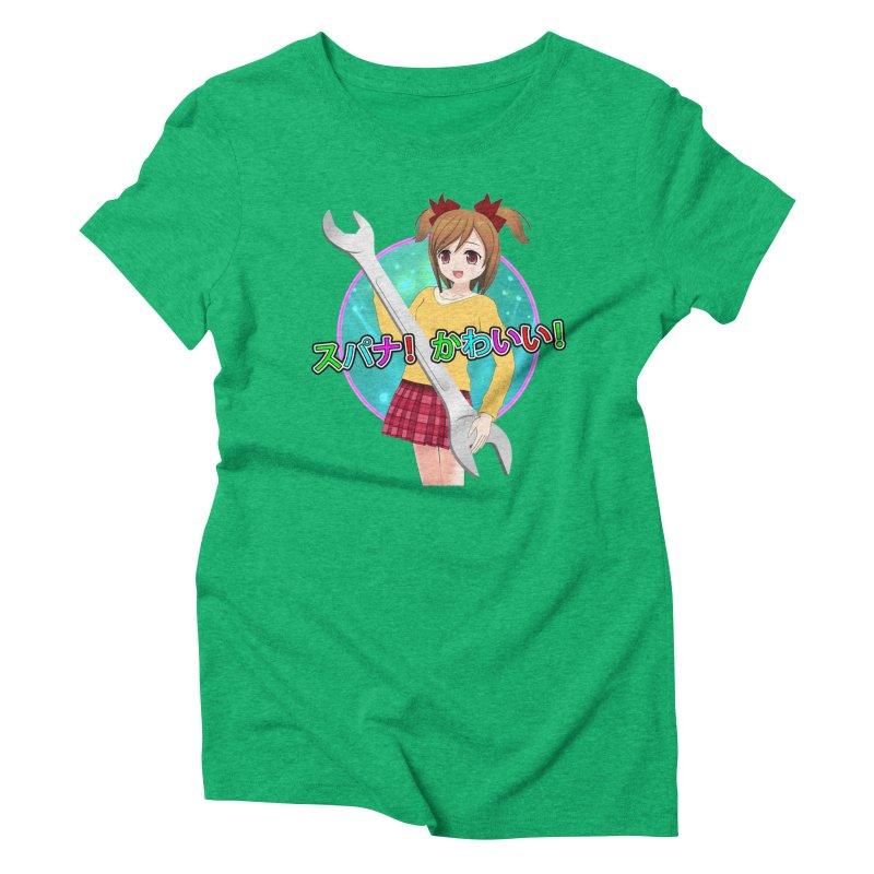 Spanner! Kawaii! Women's Triblend T-Shirt by The Rake & Herald Online Clag Emporium