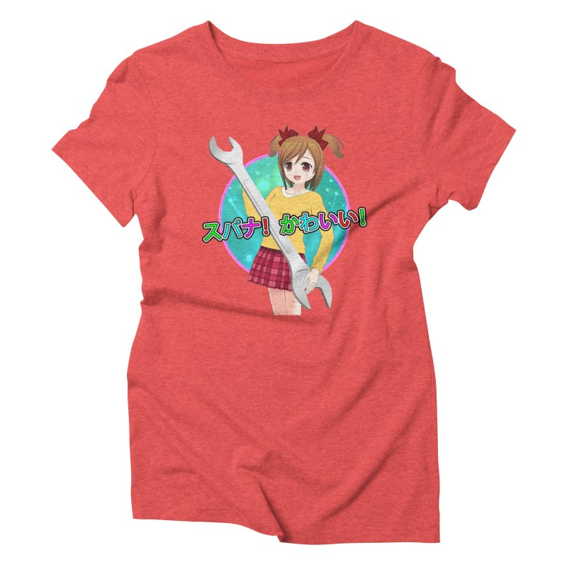 Spanner! Kawaii! Women's Triblend T-Shirt by The Rake & Herald Online Clag Emporium