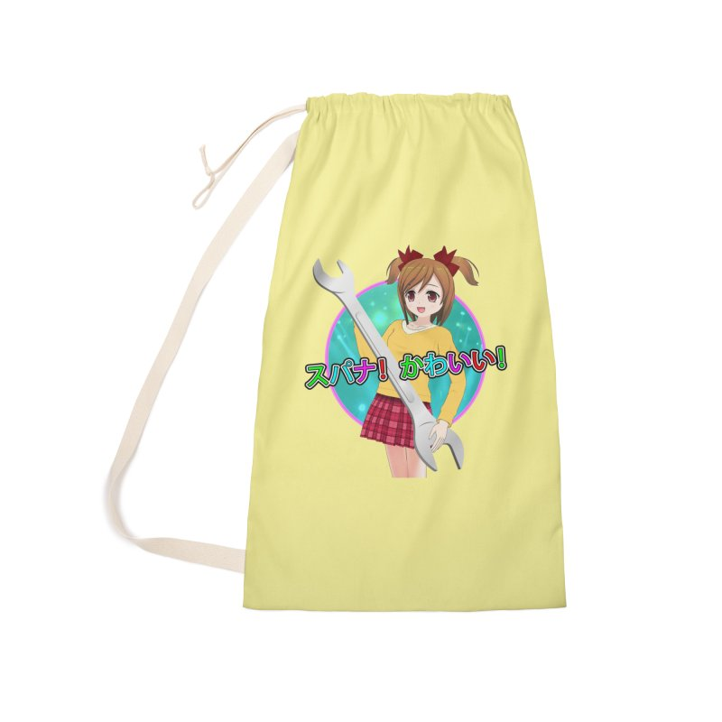 Spanner! Kawaii! Accessories Laundry Bag Bag by The Rake & Herald Online Clag Emporium