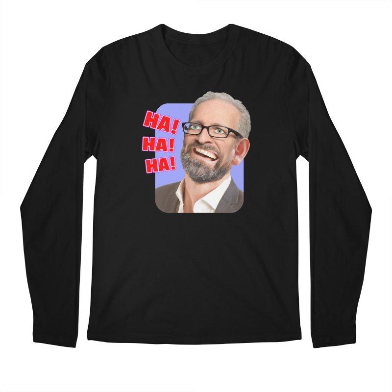 Ha! Ha! Ha! Men's Longsleeve T-Shirt by The Rake & Herald Online Clag Emporium