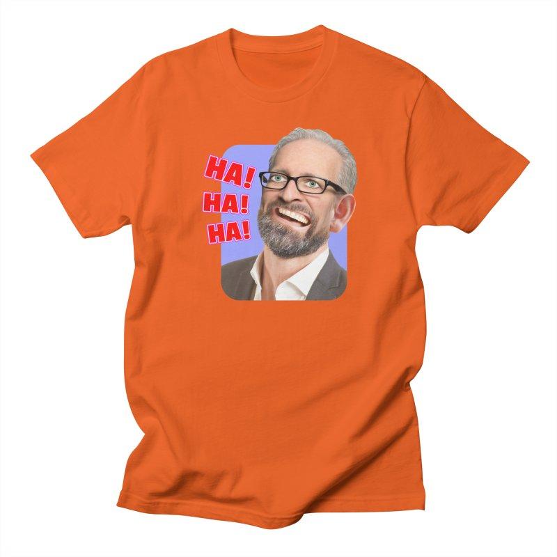 Ha! Ha! Ha! Men's Regular T-Shirt by The Rake & Herald Online Clag Emporium