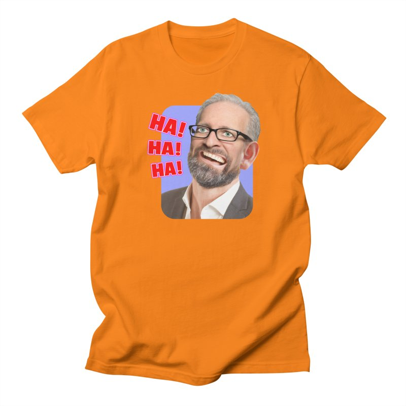 Ha! Ha! Ha! Men's T-Shirt by The Rake & Herald Online Clag Emporium