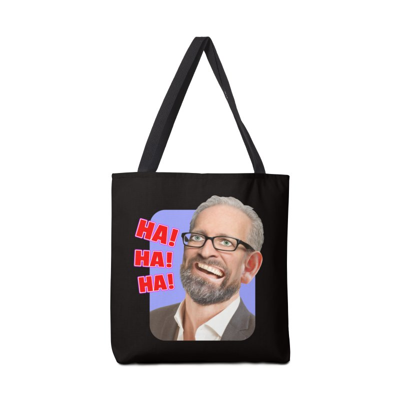 Ha! Ha! Ha! Accessories Tote Bag Bag by The Rake & Herald Online Clag Emporium