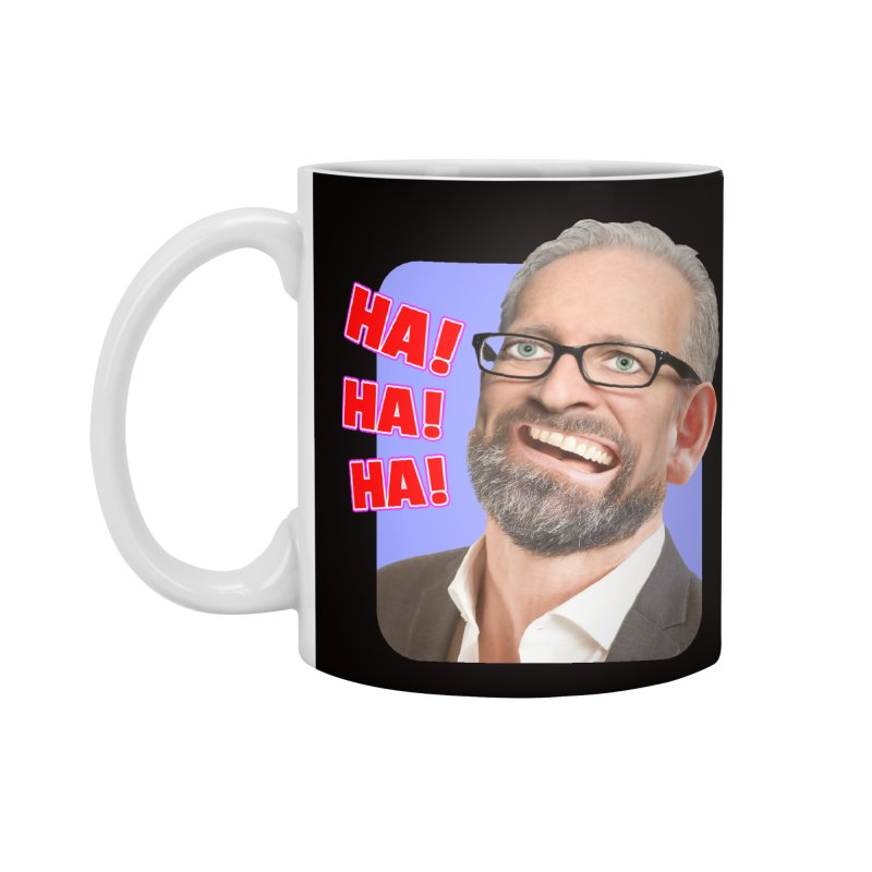 Ha! Ha! Ha! Accessories Standard Mug by The Rake & Herald Online Clag Emporium