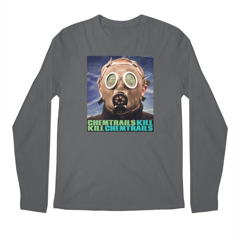 Chemtrails Kill Men's Longsleeve T-Shirt by The Rake & Herald Online Clag Emporium