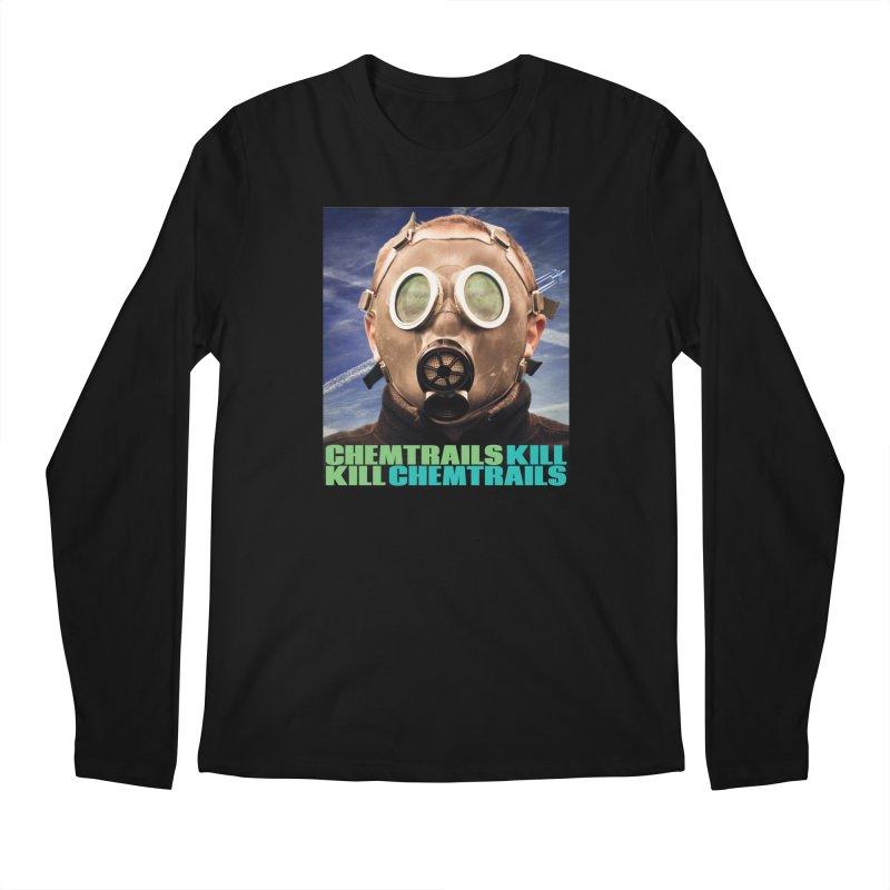 Chemtrails Kill Men's Regular Longsleeve T-Shirt by The Rake & Herald Online Clag Emporium