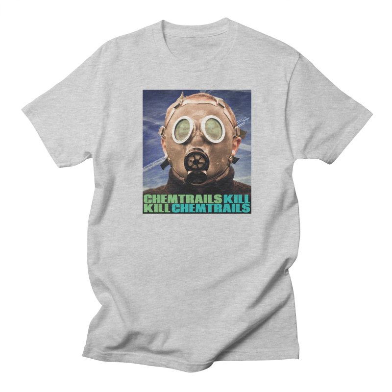 Chemtrails Kill Men's Regular T-Shirt by The Rake & Herald Online Clag Emporium