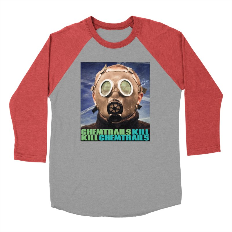 Chemtrails Kill Men's Baseball Triblend Longsleeve T-Shirt by The Rake & Herald Online Clag Emporium