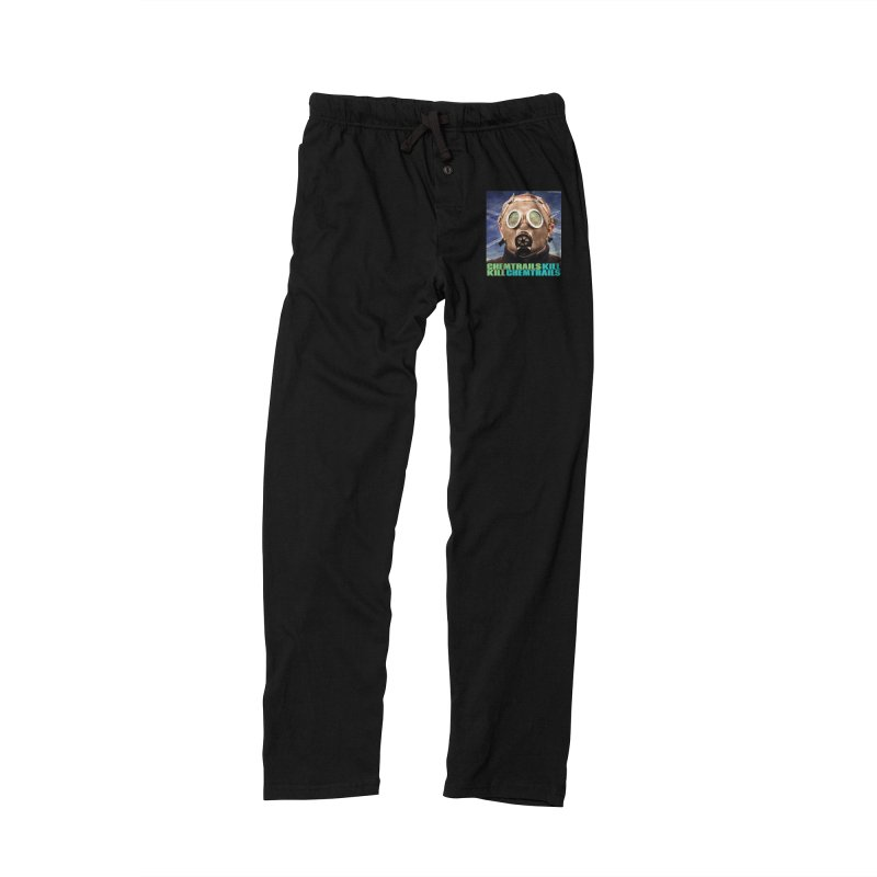 Chemtrails Kill Men's Lounge Pants by The Rake & Herald Online Clag Emporium