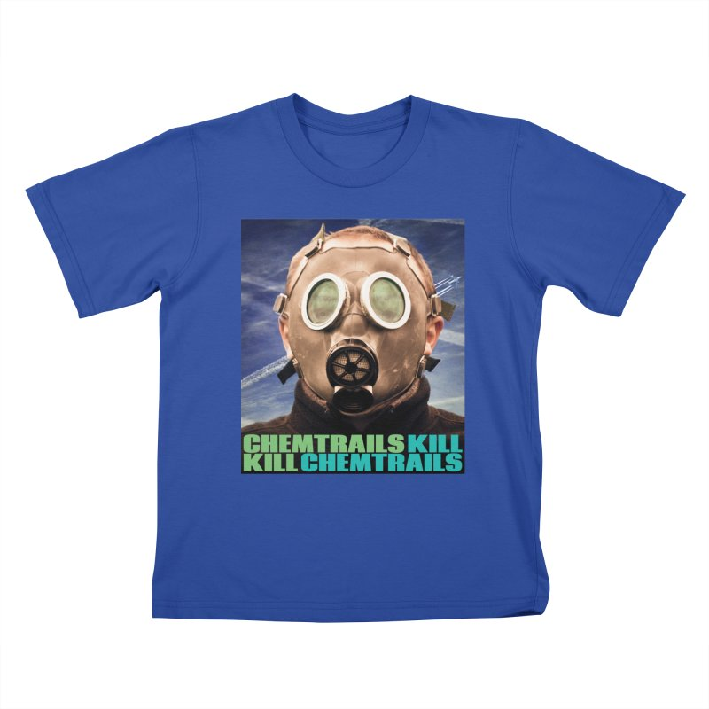 Chemtrails Kill Kids T-Shirt by The Rake & Herald Online Clag Emporium