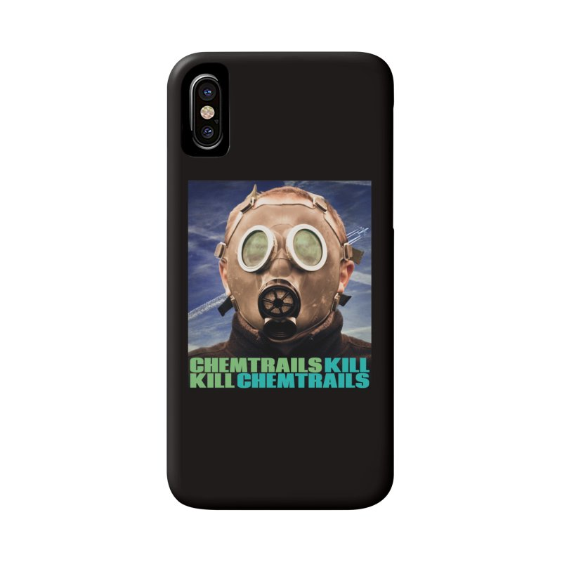 Chemtrails Kill Accessories Phone Case by The Rake & Herald Online Clag Emporium