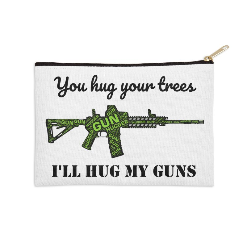 Gun Hugger Accessories Zip Pouch by Rally For Our Rights Shop