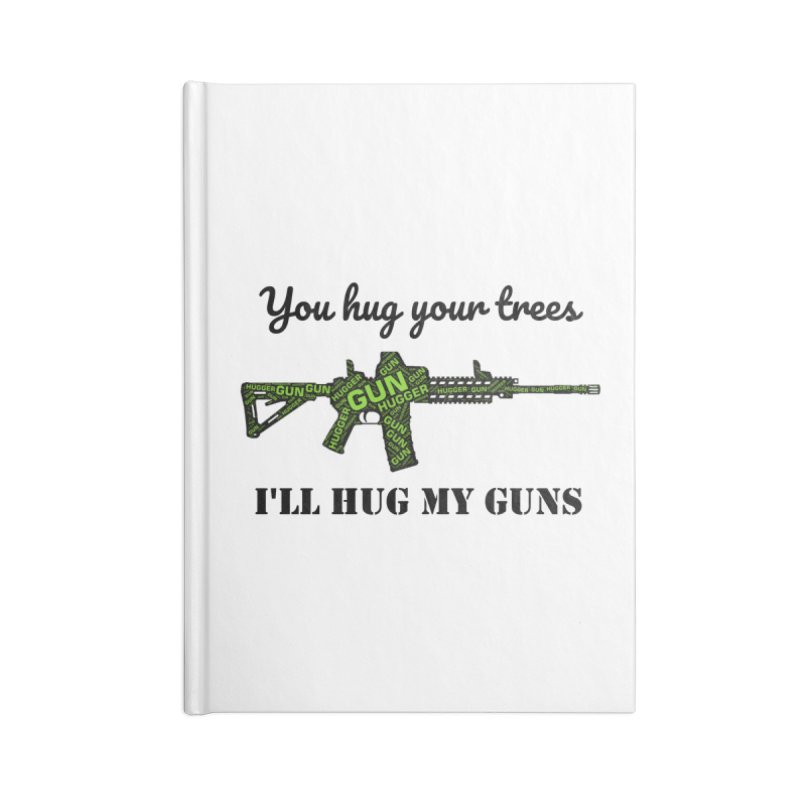 Gun Hugger Accessories Notebook by Rally For Our Rights Shop