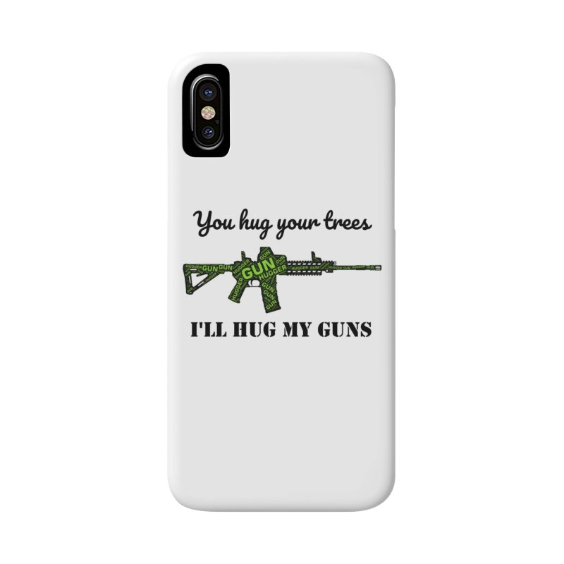 Gun Hugger Accessories Phone Case by Rally For Our Rights Shop