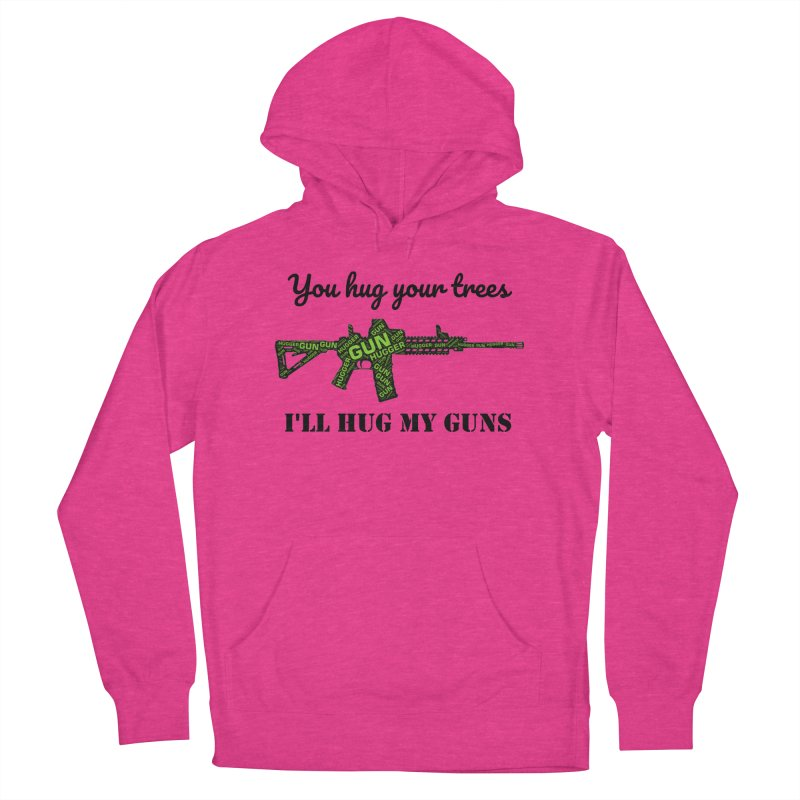 Gun Hugger Women's French Terry Pullover Hoody by Rally For Our Rights Shop
