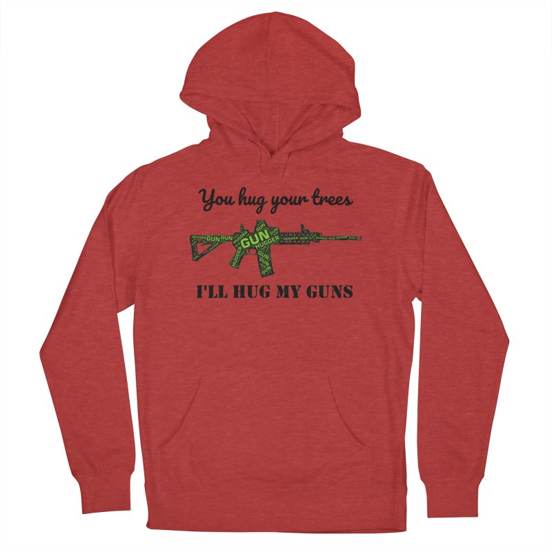 Gun Hugger Men's French Terry Pullover Hoody by Rally For Our Rights Shop
