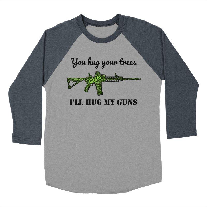 Gun Hugger Women's Baseball Triblend Longsleeve T-Shirt by Rally For Our Rights Shop