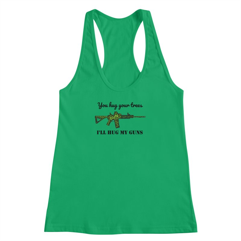 Gun Hugger Women's Racerback Tank by Rally For Our Rights Shop