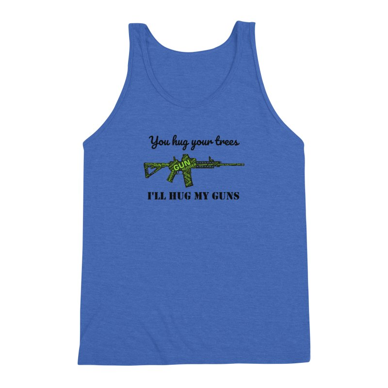 Gun Hugger Men's Triblend Tank by Rally For Our Rights Shop