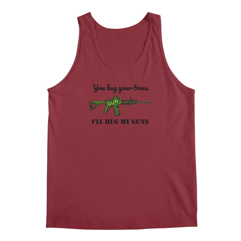 Gun Hugger Men's Regular Tank by Rally For Our Rights Shop