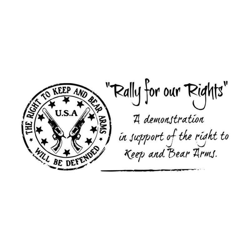 Rally for our Rights - Classic Black Logo by Rally For Our Rights Shop