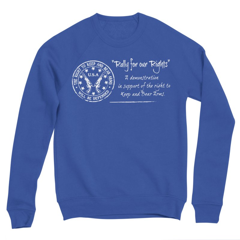 Rally for our Rights - Classic White Logo Women's Sponge Fleece Sweatshirt by Rally For Our Rights Shop