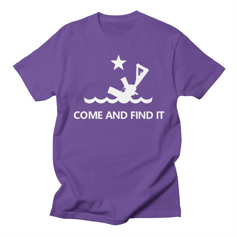Come and Find It - White Logo Women's Regular Unisex T-Shirt by Rally For Our Rights Shop